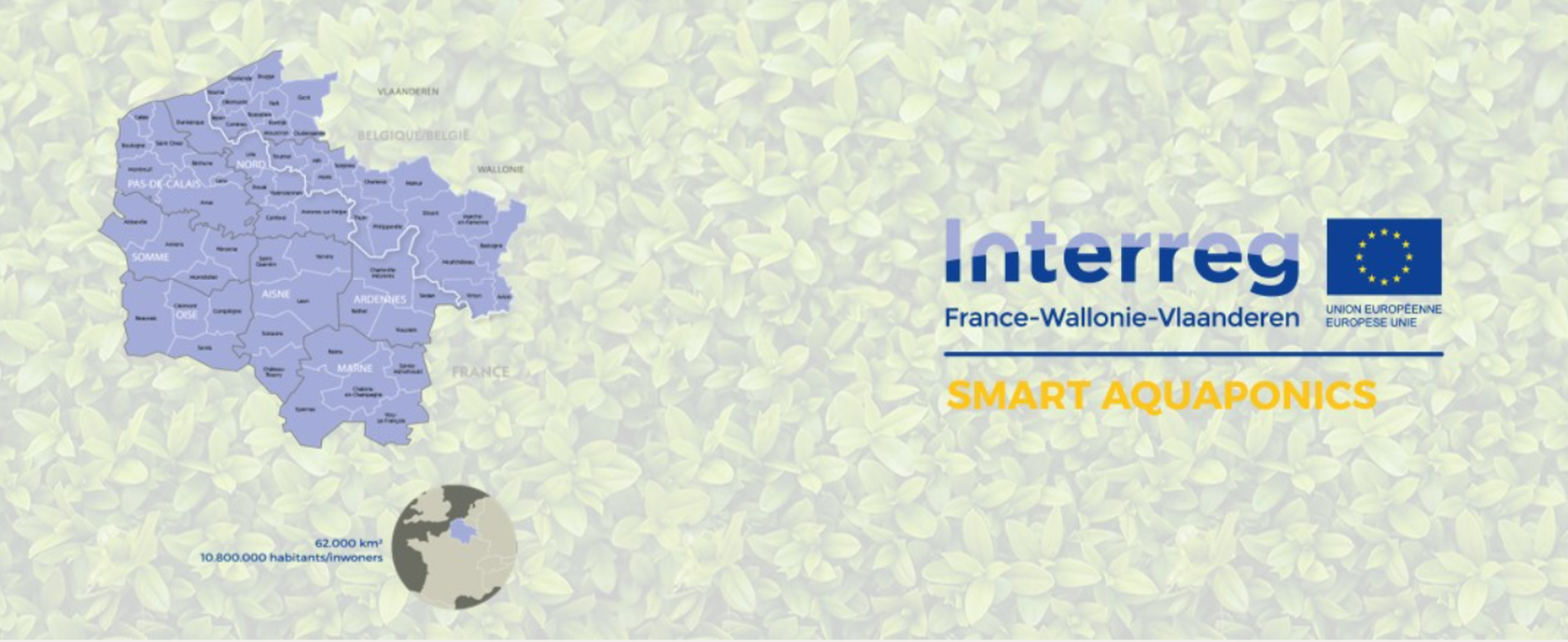 Smart Aquaponics Interreg logo
